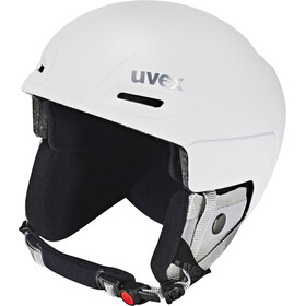 UVEX Jimm Helm, White Mat Reflect